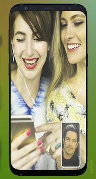 Face New Time Video call & chat Guide Advice 2020 poster