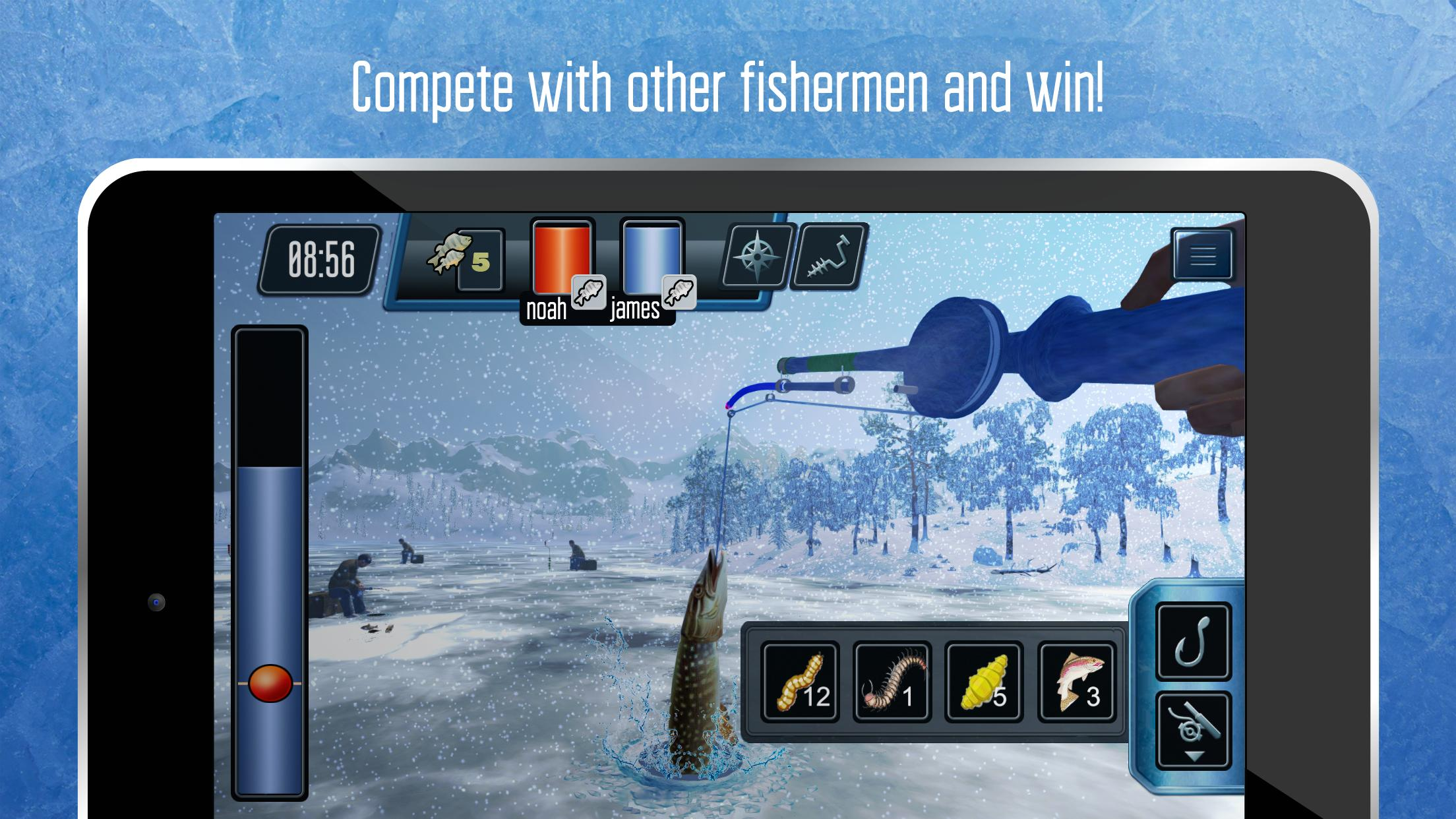 Ice Fishing  Free fishing game  Catch big fish! for Android - APK