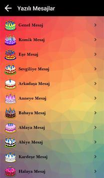 Doğum Günü Mesajları screenshot 3