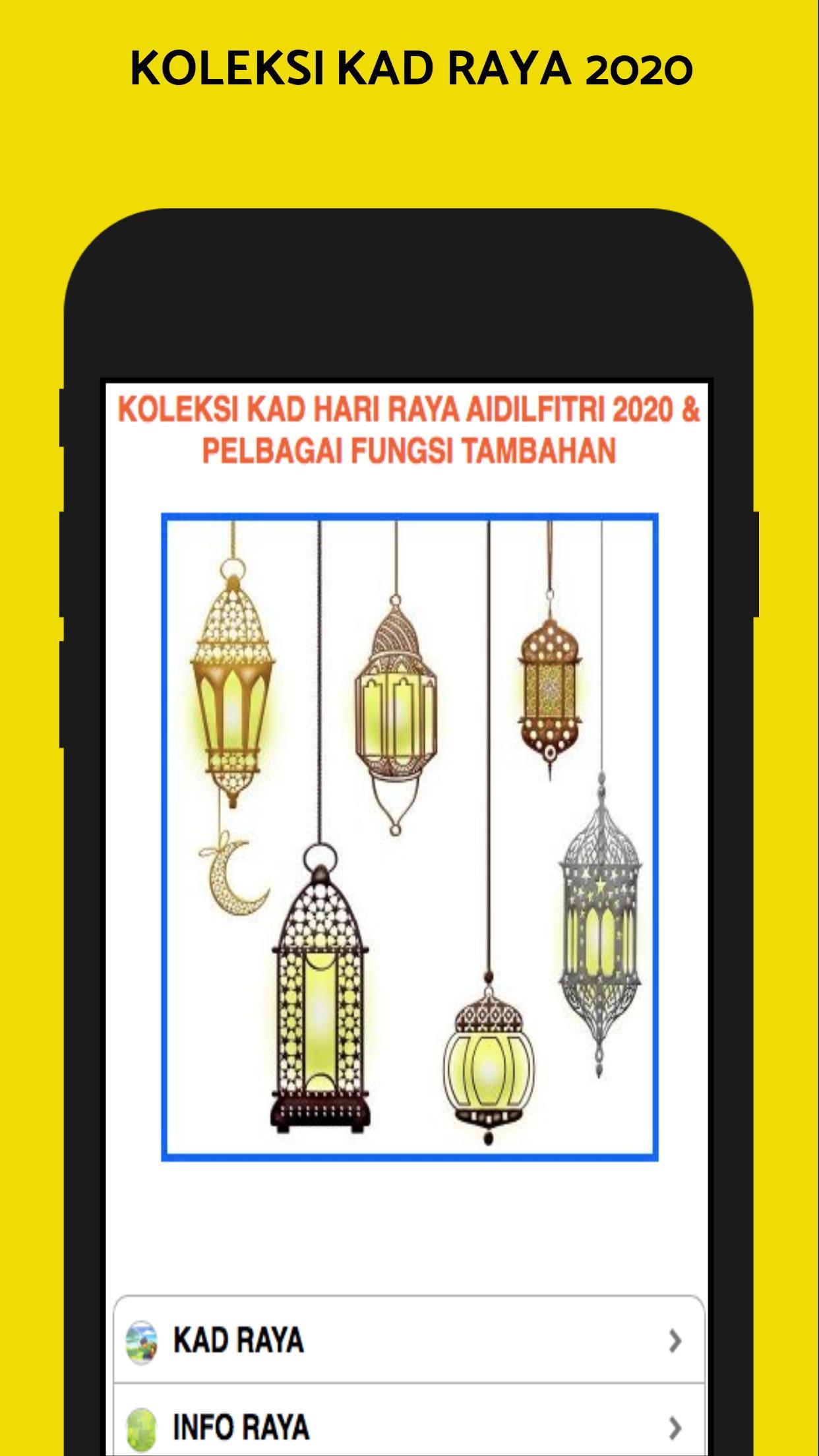 Kad Hari Raya Aidilfitri 2020 For Android Apk Download