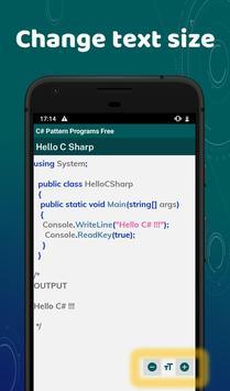 C# Pattern Programs Free screenshot 5