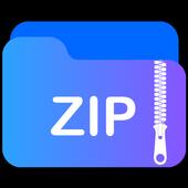 Unzip files - Zip file opener. icon