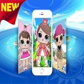 📱 Cute Lol Dolls Wallpaper For Sweet Girl 📱 icon