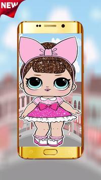 📱 Cute Lol Dolls Wallpaper For Sweet Girl 📱 screenshot 2