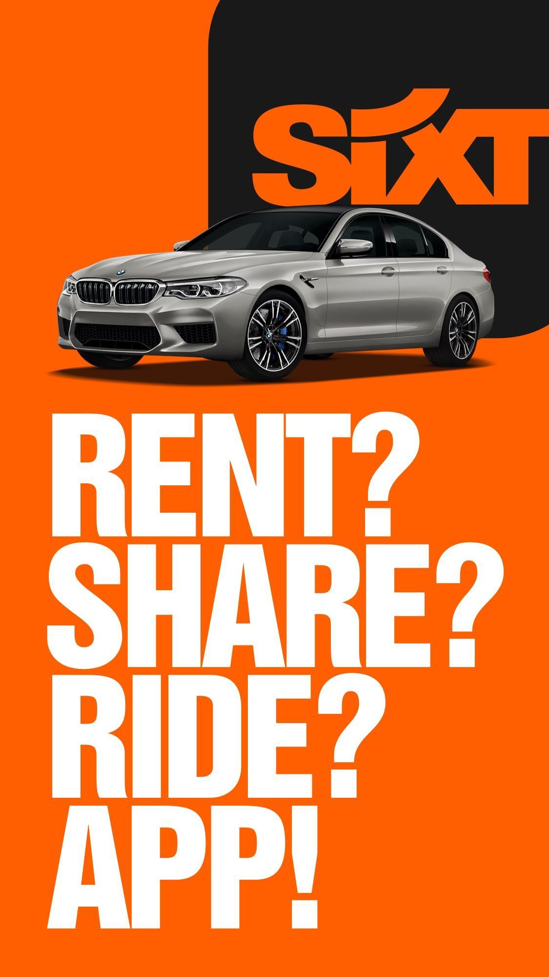 SIXT: Car Rental, Carsharing & Taxi For Android