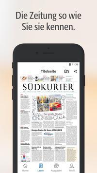 SÜDKURIER Digitale Zeitung poster