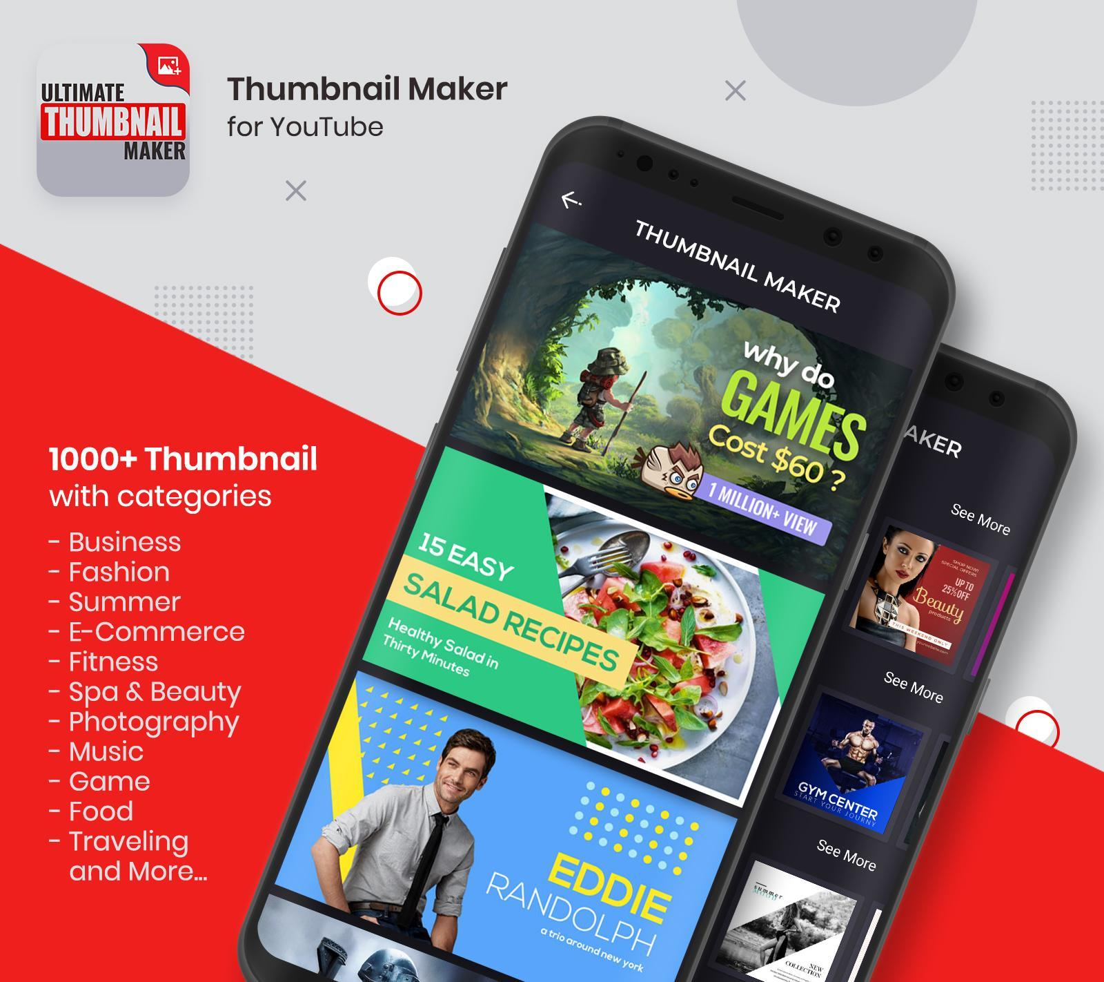 Ultimate Thumbnail Maker For Youtube Banner Maker For Android Apk Download