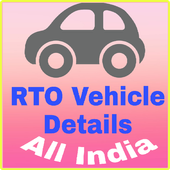 RTO Vehicle RC Status App 1.0 icon