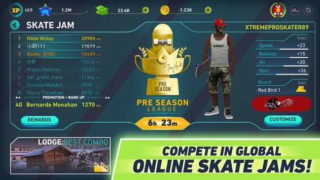 Tony Hawk's Skate Jam captura de pantalla 4