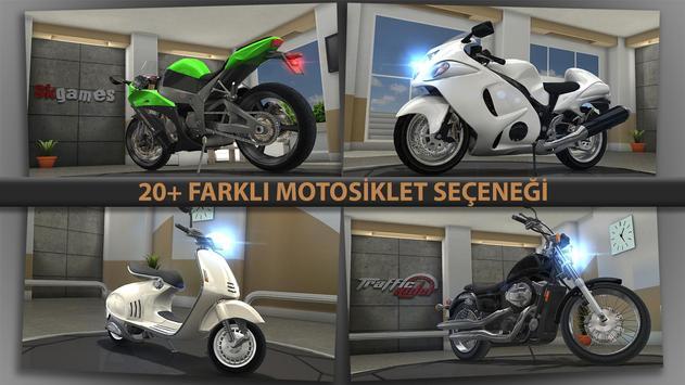 Traffic Rider Ekran Görüntüsü 4