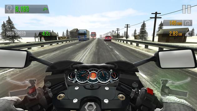 5 Schermata Traffic Rider