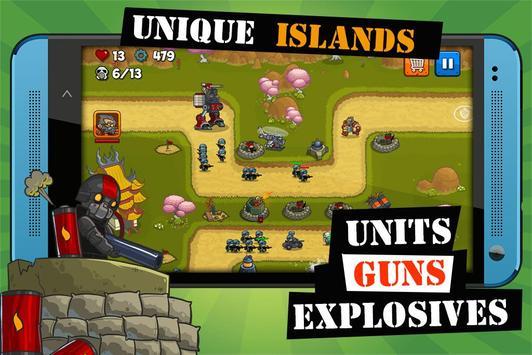 Island Defense imagem de tela 2