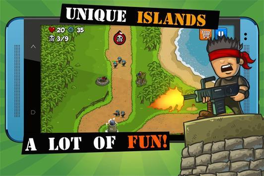 Island Defense imagem de tela 4