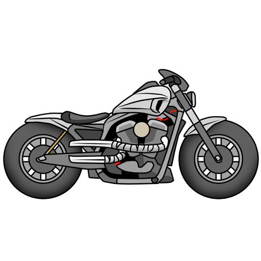 Draw Motorcycles: Cruiser