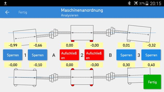 SKF Machine train alignment Screenshot 2