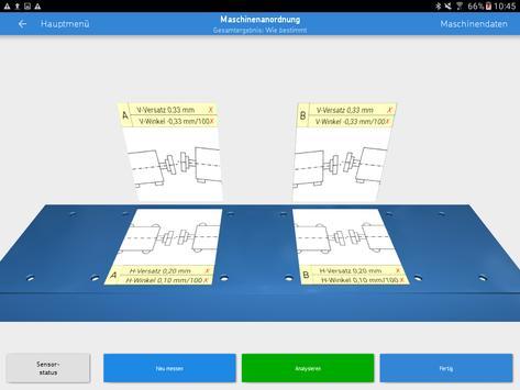 SKF Machine train alignment Screenshot 6