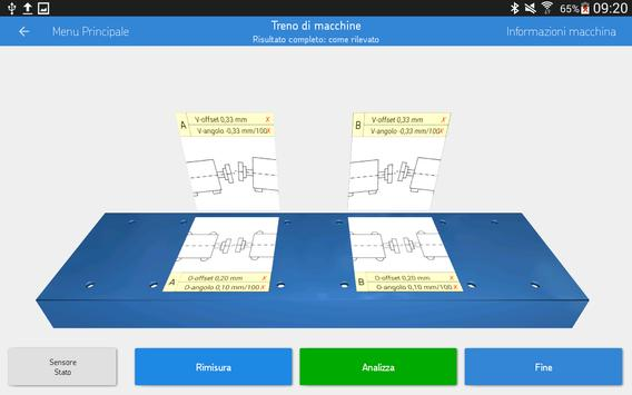 11 Schermata SKF Machine train alignment