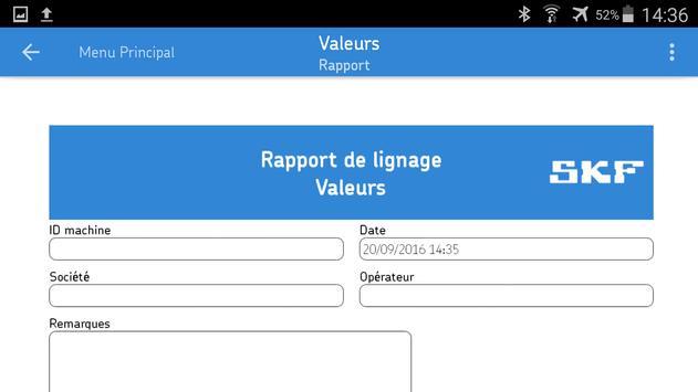 SKF Values capture d'écran 1