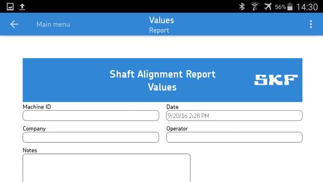 SKF Values تصوير الشاشة 1