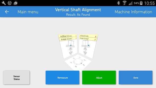 SKF Vertical shaft alignment 스크린샷 1