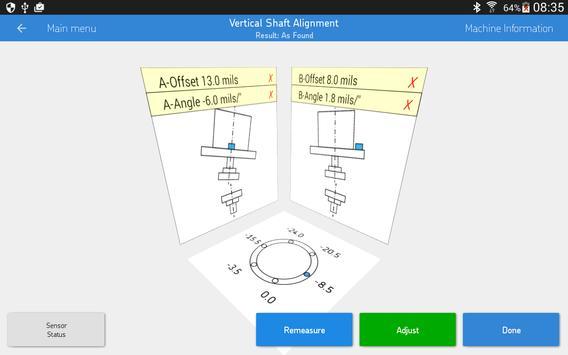 SKF Vertical shaft alignment 스크린샷 8