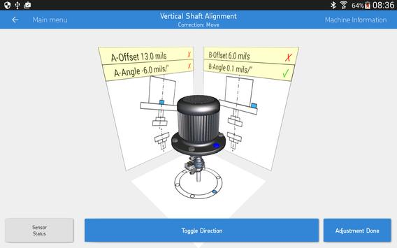 SKF Vertical shaft alignment 스크린샷 9