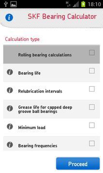 SKF Bearing Calculator Screenshot 3