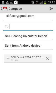 SKF Bearing Calculator Plakat