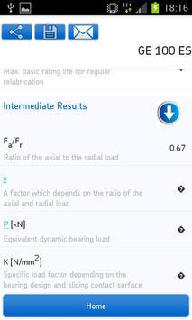SKF Bearing Calculator Screenshot 7