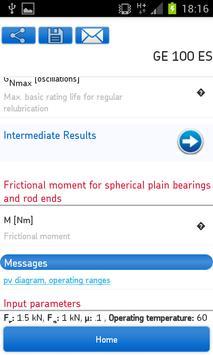 SKF Bearing Calculator Screenshot 6