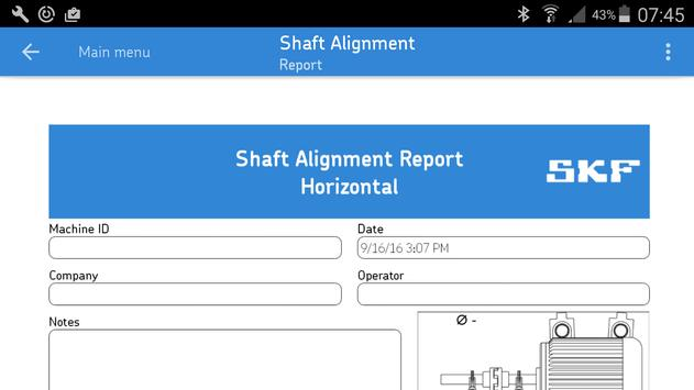 SKF Shaft alignment syot layar 3