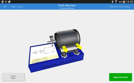 SKF Shaft alignment syot layar 10