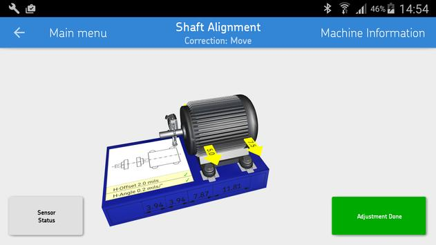 SKF Shaft alignment syot layar 2