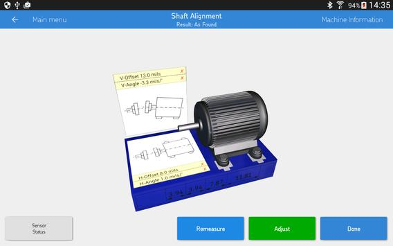 SKF Shaft alignment syot layar 9