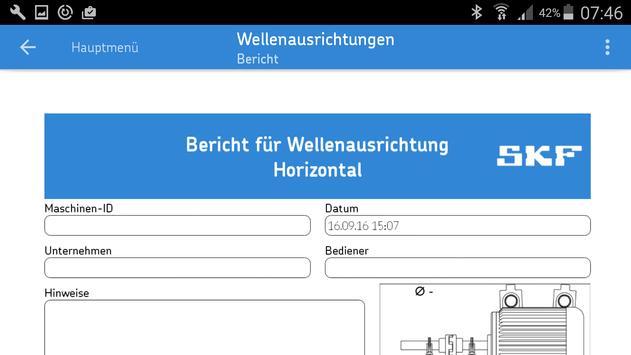 SKF Shaft alignment Screenshot 3