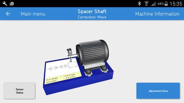 SKF Spacer shaft alignment screenshot 2