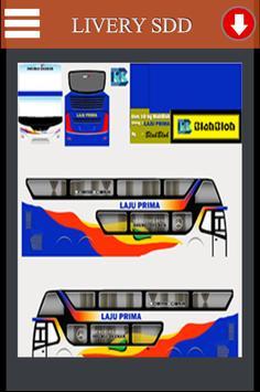 Livery Bussid Laju Prima SDD screenshot 2