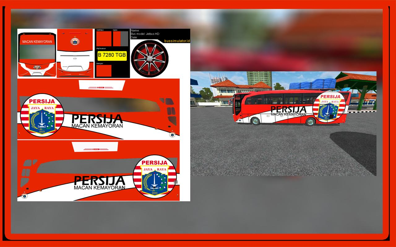 60 Skin Bola Livery Bussid Hd Pour Android Telechargez L Apk