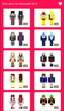 Free Girls Skins for Minecraft 2019 screenshot 6