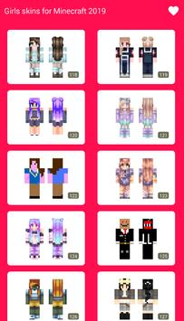 Free Girls Skins for Minecraft 2019 screenshot 7