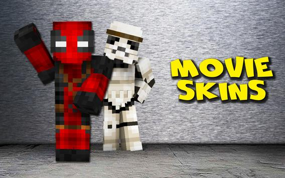 Skins movies for Minecraft poster