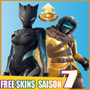 Free Skins for Battle Royale SAISON 7 icon