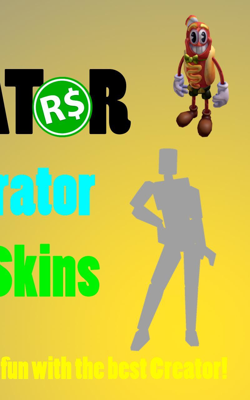 Free Generator Skins For Robux For Android Apk Download