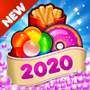 Candy Food Mania - New Match 3 Games 2020 Bonuses Zeichen