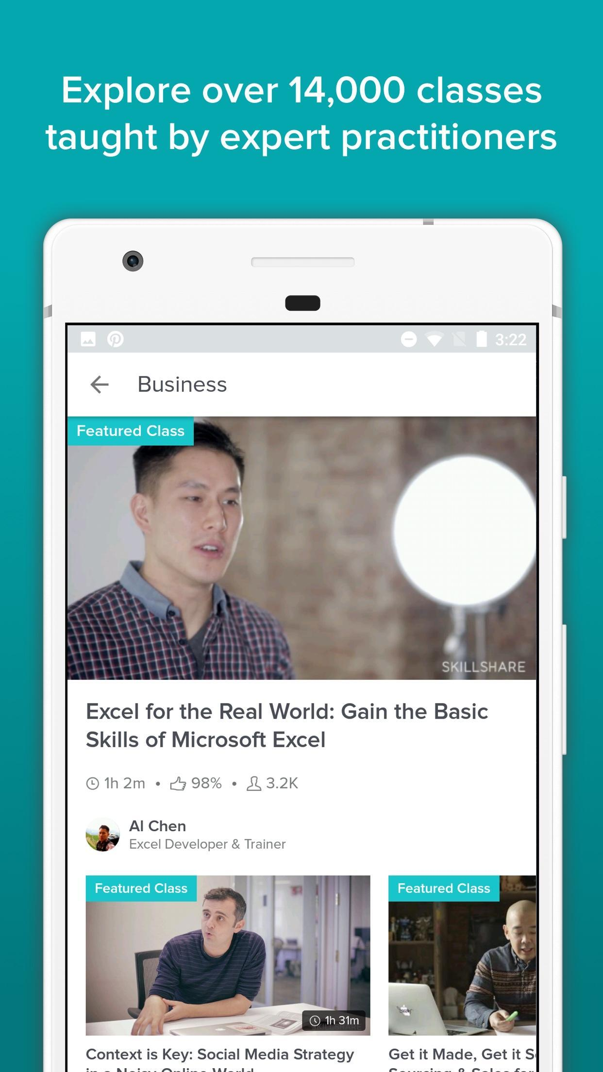 Skillshare for Android - APK Download