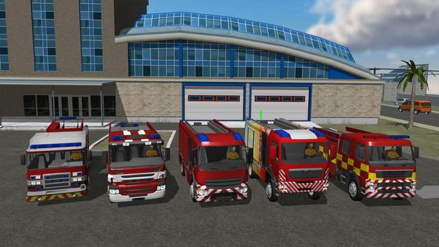 Fire Engine Simulator poster