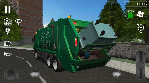 Trash Truck Simulator Ekran Görüntüsü 1