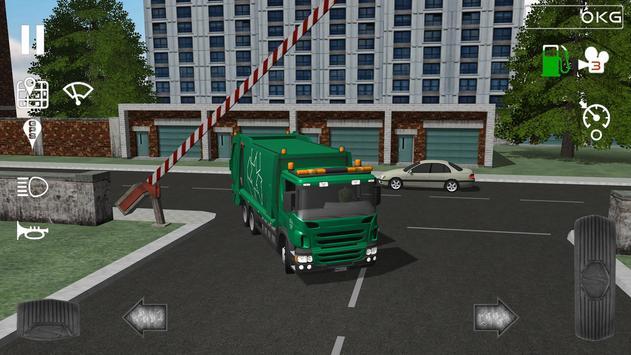 Trash Truck Simulator Ekran Görüntüsü 3