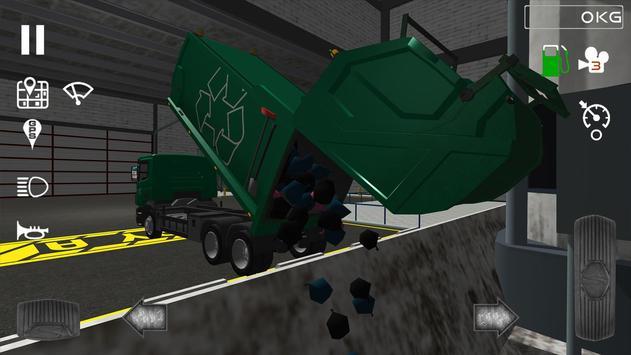 Trash Truck Simulator Ekran Görüntüsü 4