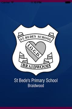 St Bede's PS Braidwood poster